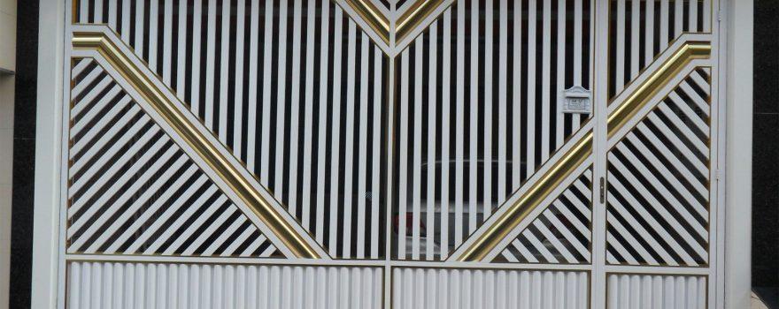 Modelos de Portões de Alumínio