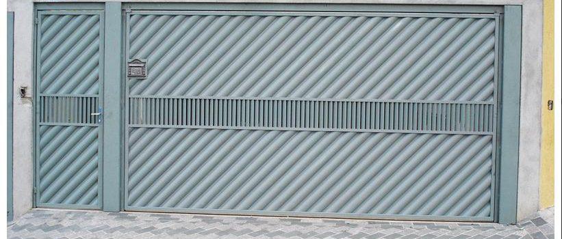 Modelos de Portões de Ferro com Chapa