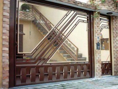 Modelos de Portões de Ferro com Tela