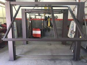 Fabricando portão basculante